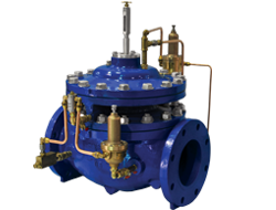 106 / 206-PR-SM Pressure Reducing Control Valve with Integral Back-up