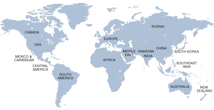 World Map Usa And Canada – Ngemapservicedapartmentsco